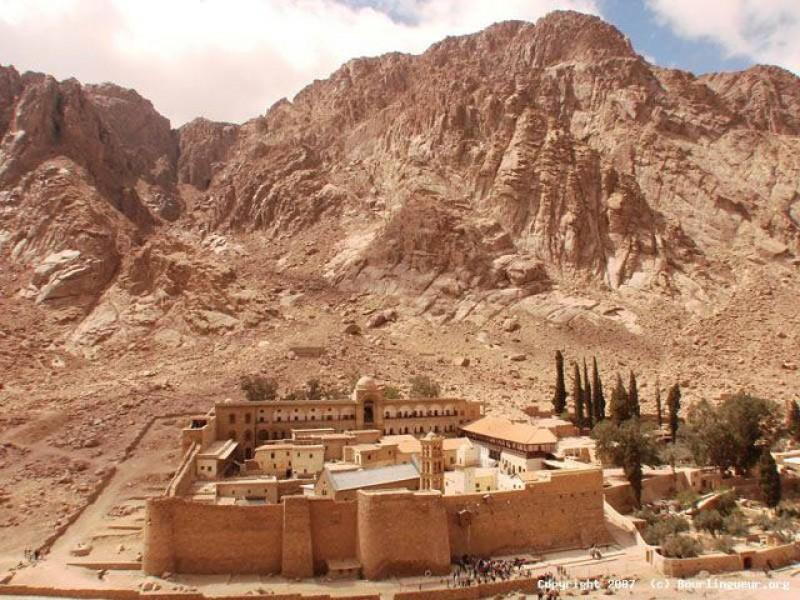 MOUNT SINAI AND ST. CATHERINE MONASTERY